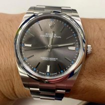Rolex Oyster Perpetual 39 Steel 39mm Grey No numerals Malaysia, Malaysia