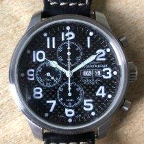 Zeno-Watch Basel OS Pilot Otel Negru Arabic