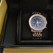 Breitling Navitimer World neu 2009 Automatik Uhr mit Original-Box und Original-Papieren 2253419