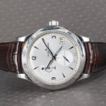 Jaeger-LeCoultre Master Hometime Steel 40mm Silver Arabic numerals