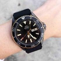 Orient Kamasu Steel Black