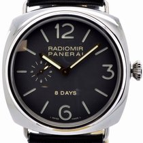 Panerai Radiomir 8 Days Steel 45mm Black Arabic numerals