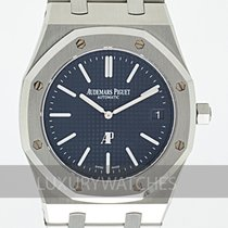 Audemars Piguet Acier Remontage automatique Bleu 39mm occasion Royal Oak Jumbo