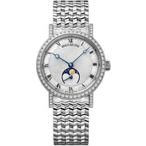 Breguet White gold 30mm Automatic 9088BB/52/BC0/DD00 new