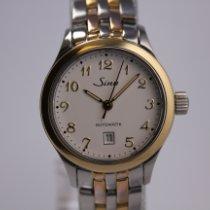 Sinn 456 Gold/Steel 28mm White Arabic numerals