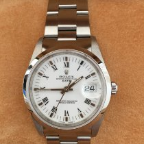 Rolex Oyster Perpetual Date 15200 Sehr gut Stahl 34mm Automatik