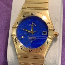 Omega Constellation Yellow gold 38mm Blue Roman numerals Australia, Elsternwick