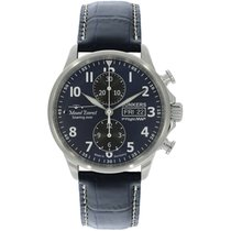 Junkers Mountain Wave Project 6824-3 New Steel 43mm Automatic