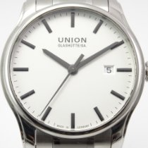 Union Glashütte Viro Date Steel 41mm Silver No numerals