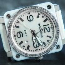 Bell & Ross Céramique 42mm Remontage automatique BR-03-92-WHITE-CERAMIC-DIAMOND occasion
