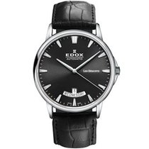Edox new Automatic 42mm Steel Sapphire crystal