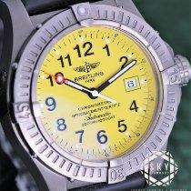 Breitling Avenger Seawolf Titanium 44mm Black Arabic numerals United States of America, New York, New York