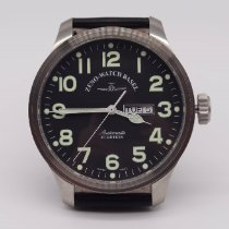 Zeno-Watch Basel OS Pilot Otel 47mm Negru