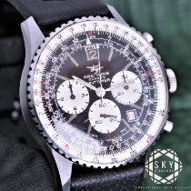 Breitling Navitimer pre-owned 41mm Black Chronograph Date Leather