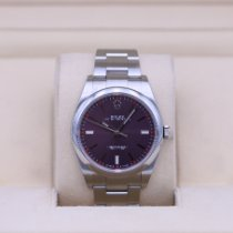 Rolex Oyster Perpetual 39 Steel 39mm Purple No numerals United States of America, Tennesse, Nashville