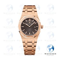 Audemars Piguet Royal Oak Lady Rose gold 33mm Brown No numerals United States of America, New York