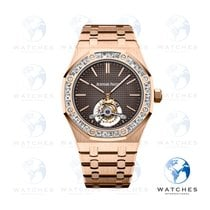 Audemars Piguet Royal Oak Tourbillon Rose gold 41mmmm Brown