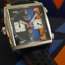 TAG Heuer Monaco Steel 39mm Blue No numerals United States of America, California, WEST HOLLYWOOD