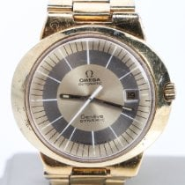 Omega Genève Steel 41mm Gold No numerals United States of America, Nevada, Las Vegas