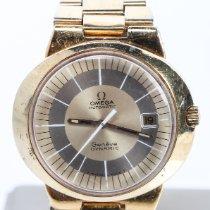 Omega Genève Steel 41mm Gold No numerals