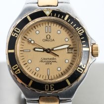 Omega Seamaster Gold/Steel 40mm Gold No numerals
