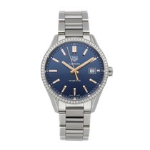 TAG Heuer Carrera Lady Steel 39mm Blue No numerals United States of America, Pennsylvania, Bala Cynwyd