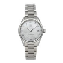 TAG Heuer Carrera Lady Steel 32mm White No numerals United States of America, Pennsylvania, Bala Cynwyd