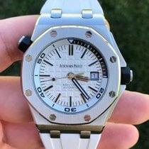 Audemars Piguet Royal Oak Offshore Diver Steel 42mm Silver No numerals United States of America, California, Santa Monica