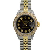 Rolex Lady-Datejust Gold/Steel 26mm Black No numerals United States of America, California