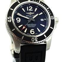 Breitling Superocean II 44 Steel 44mm Black Arabic numerals