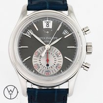Patek Philippe Annual Calendar Chronograph Platinum 40mm Grey