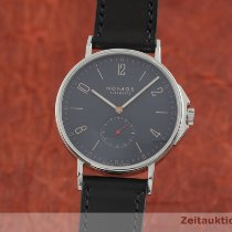NOMOS Ahoi pre-owned 40mm Blue Leather