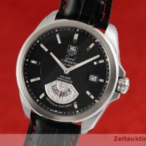 TAG Heuer Grand Carrera Stål 40.5mm Sort