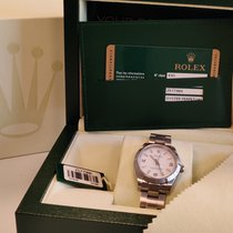 Rolex Oyster Perpetual 31 Acier 31mm Blanc Romain
