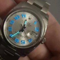 Rolex Datejust Stahl 36mm Grau