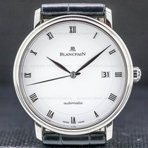Blancpain Villeret Ultra-Slim Steel 40mm Roman numerals United States of America, Massachusetts, Boston