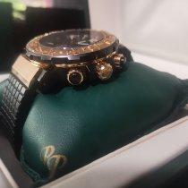 Paul Picot C-Type Oro rosa 43mm Negro