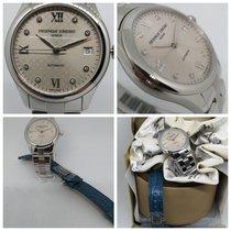 Frederique Constant Ladies Automatic Acier 36mm Gris Sans chiffres