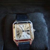 Cartier Santos Dumont Сталь 43.5mm Cеребро Римские