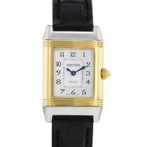 Jaeger-LeCoultre Reverso Duetto occasion 20.7mm Argent Cuir