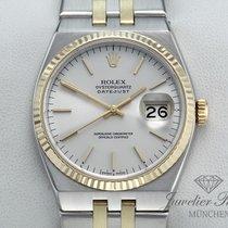 Rolex Datejust Oysterquartz Gold/Steel 36mm Silver No numerals