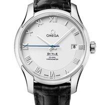 Omega 431.13.41.21.02.001 Acero 2020 De Ville Co-Axial 41mm nuevo