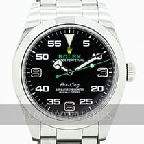 Rolex Air King Steel 40mm Black