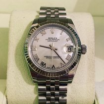 Rolex Lady-Datejust White gold 31mm Mother of pearl