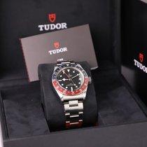Tudor Black Bay GMT nouveau 2020 Remontage automatique Montre avec coffret d'origine et papiers d'origine M79830RB-0001