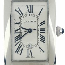 Cartier Tank Américaine White gold 37mm White Roman numerals United States of America, New York, Smithtown
