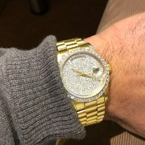 Rolex Day-Date 36 Yellow gold 36mm White No numerals