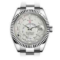 Rolex Or blanc Remontage automatique 42mm occasion Sky-Dweller