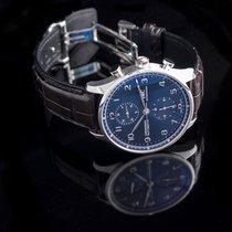 IWC Portuguese Chronograph Steel 41.0mm Blue United States of America, California, Burlingame