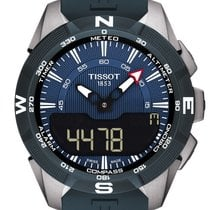 Tissot T-Touch Expert Solar new 2020 Quartz Chronograph Watch with original box and original papers T1104204704100